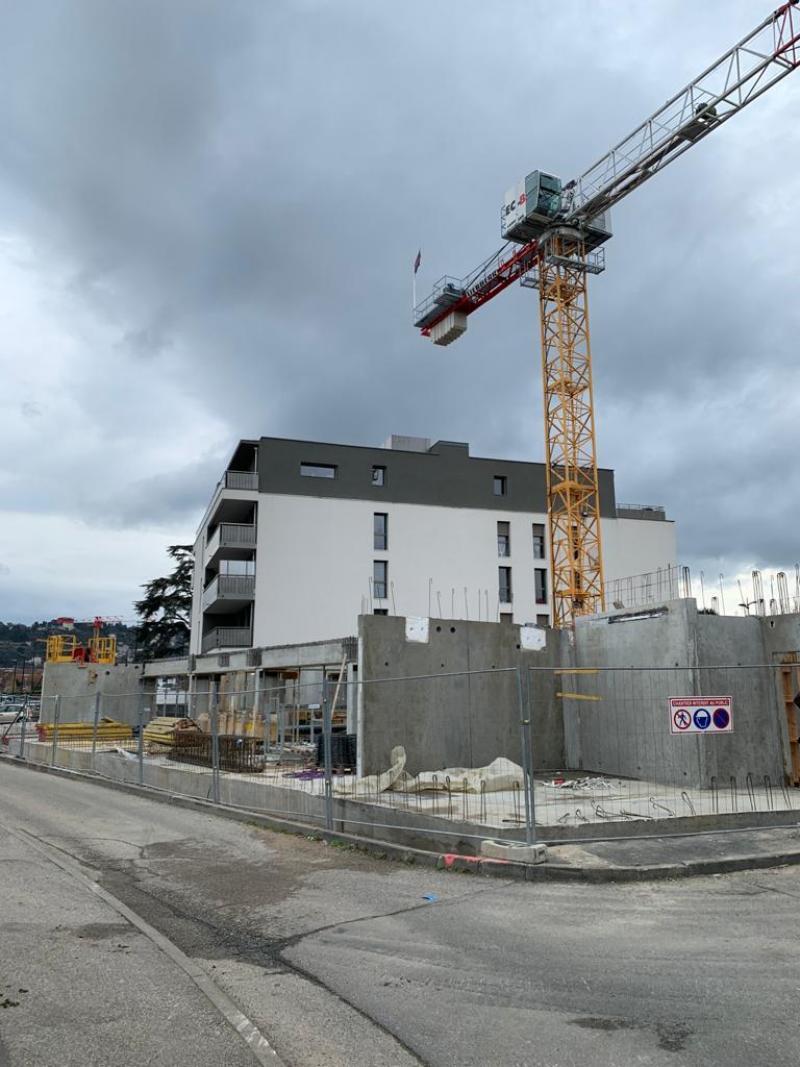 """Federaly   En cours : """"Résidence Seniors"""" à St Romain en Gal (38)"""