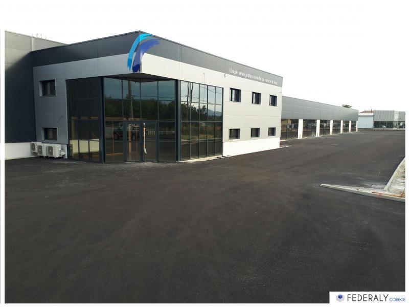 Federaly   Fin des travaux pour la réalisation d'un bâtiment industriel de 2600m2 et 450m2 de bureaux
