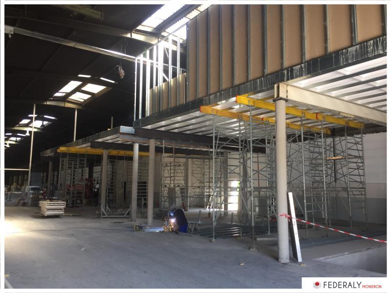 Federaly | En cours : Réalisation d'un plancher de 300m2 en mezzanine