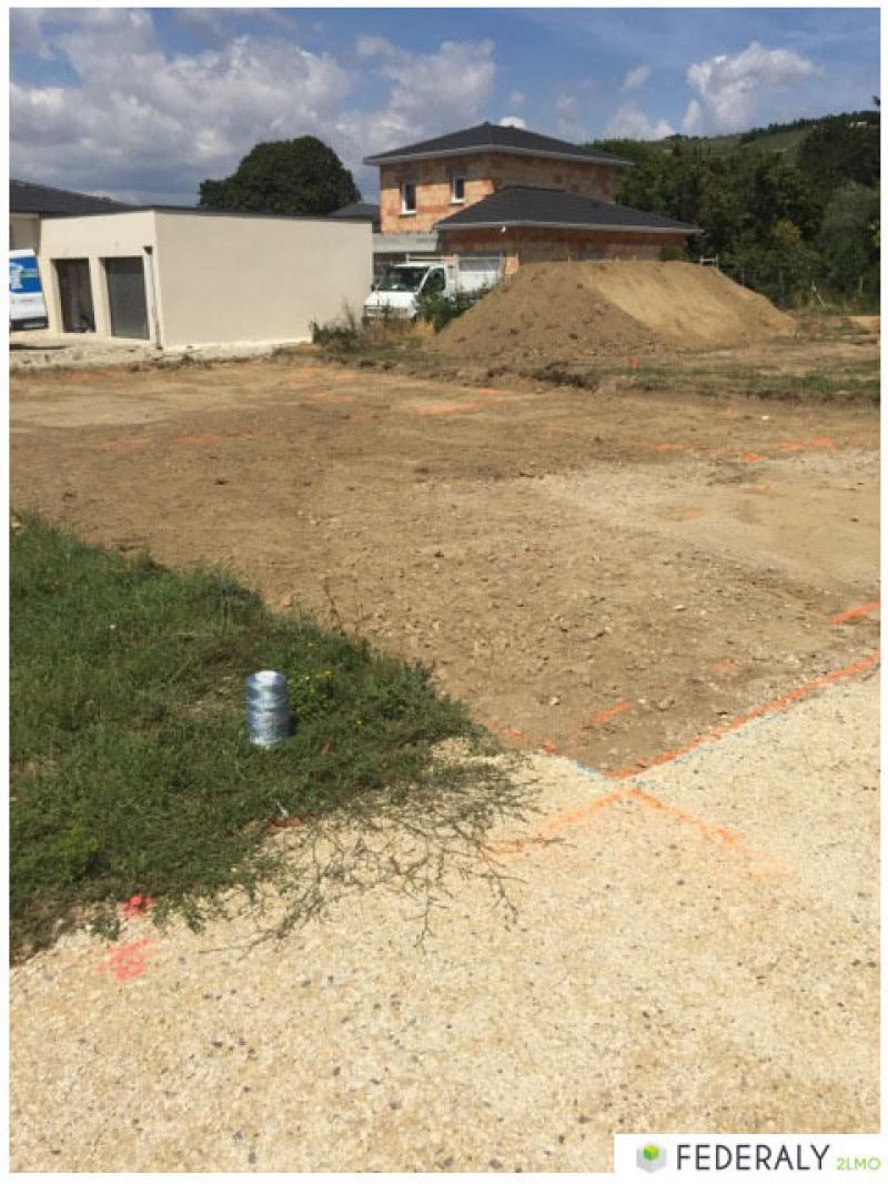 Federaly   En cours : Chantier de 3 villas individuelles sur la commune de Tain l'Hermitage