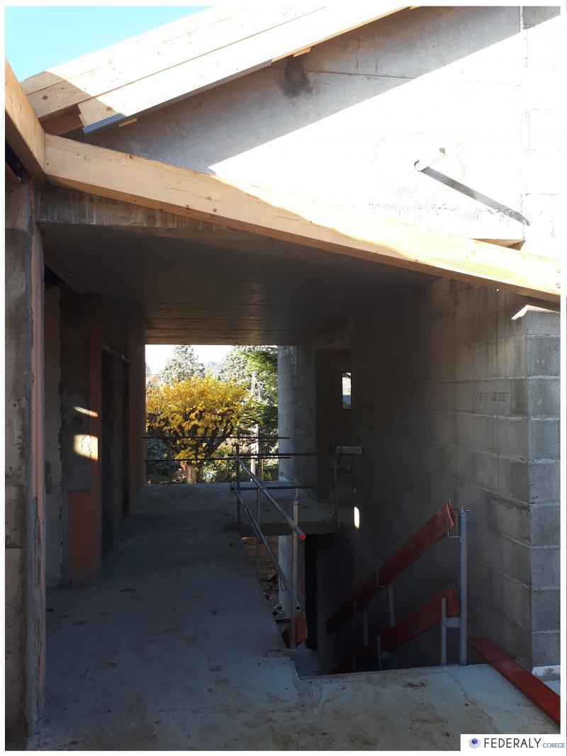 Federaly   En cours : Réhabilitation d'une habitation existante et extension attenante