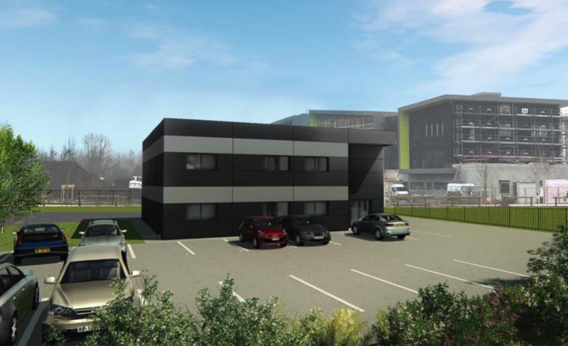 Federaly   En cours : Création d'un bâtiment tertiaire par Federaly Corege