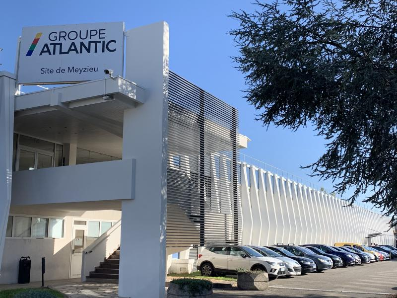 Federaly   Rénovation : Façade ATLANTIC à Meyzieu (69)
