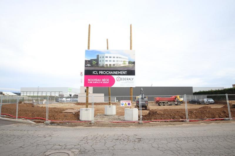 Federaly | Nouveau chantier : Notre nouveau siège à Chaponnay (69)